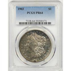 1903 $1 Morgan Proof Dollar PCGS PR64